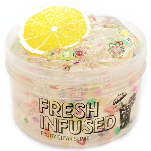 Fresh infused clear slime
