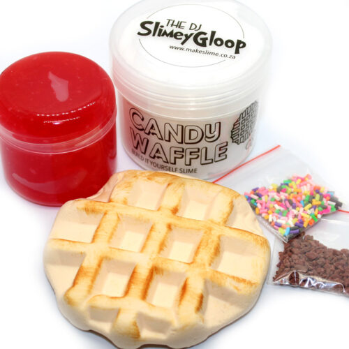 Candy waffle build it yourself slime