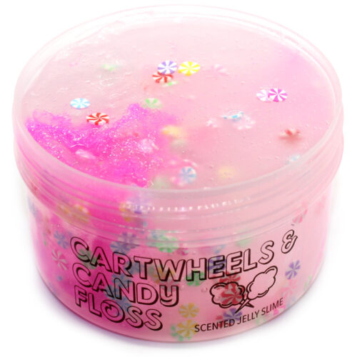 Cartwheels and candyfloss Jelly Slime
