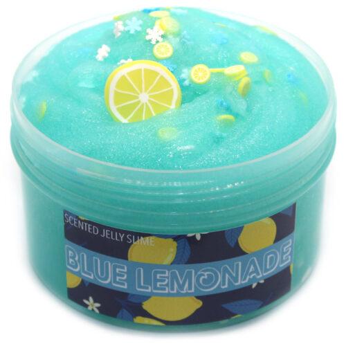 Blue lemonade Jelly Slime scented