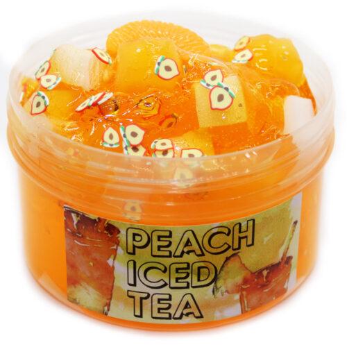 Peach iced tea clear slime scented