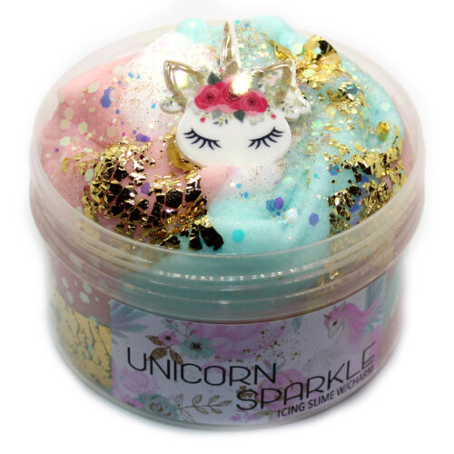 Unicorn Sparkle Icing slime scented