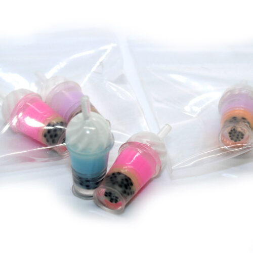 Boba juice cup charms